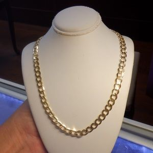 Jewelry - 14k solid real yellow gold open link chain